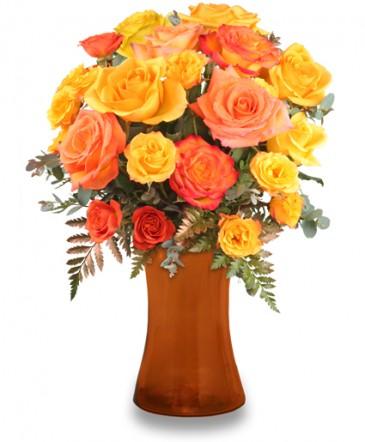 Robust Roses Arrangement