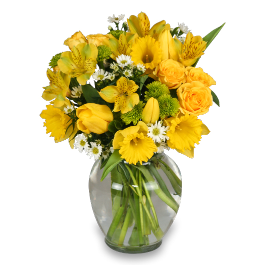 Yellow Floral Arrangement