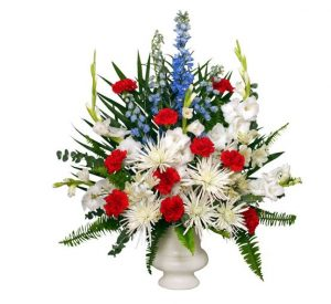 American Themed Fresh Floral Bouquets