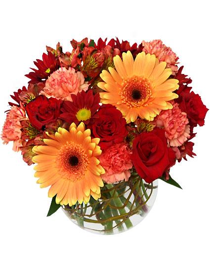 Fresh Fall Floral Arrangement