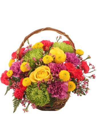Cole's Florist Colorfulness Bouquet
