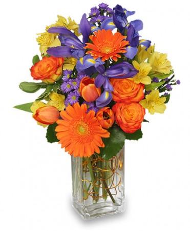 Happiness Grows Floral Arrangement