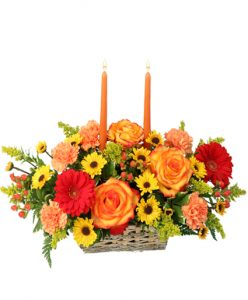 Thanksgiving Dreams Basket at Cole's Flowers