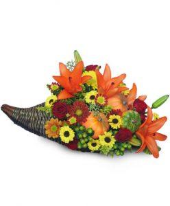 Thanksgiving Floral Arrangements in Middlebury, VT